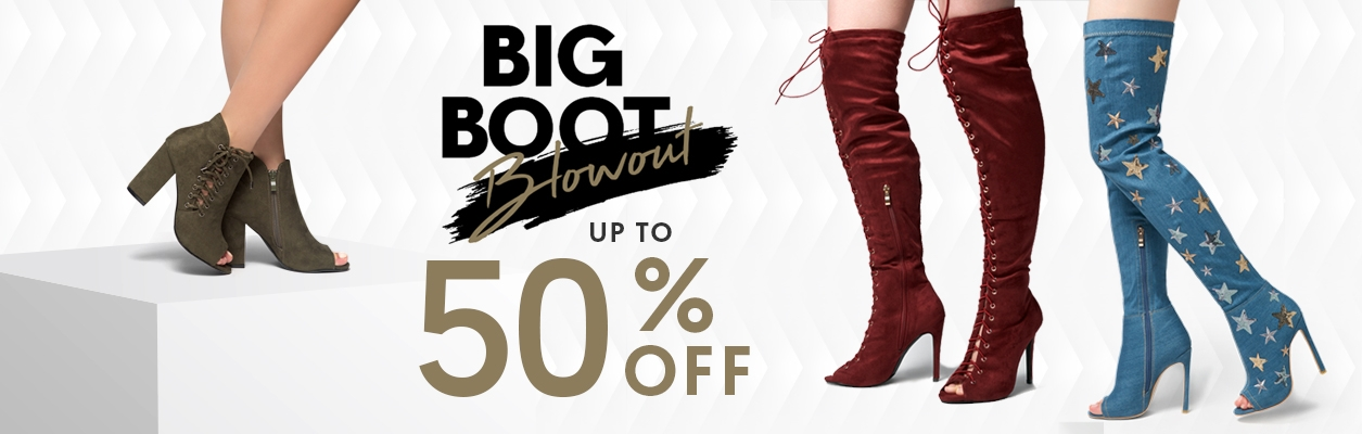 Boots & Booties Blowout