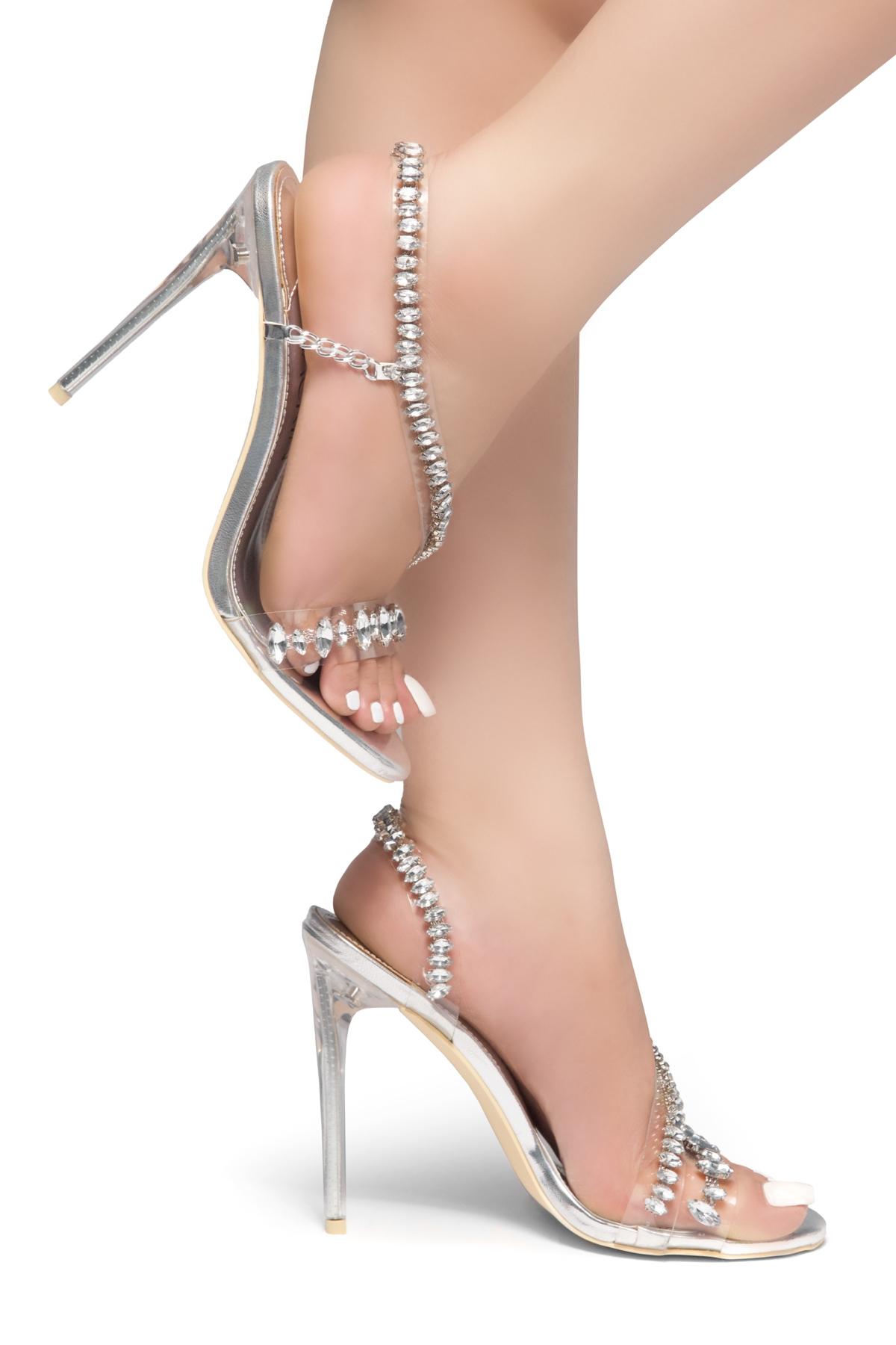 5dc61dc3f8f HerStyle Olisa- crystal Embellished trim across vamp