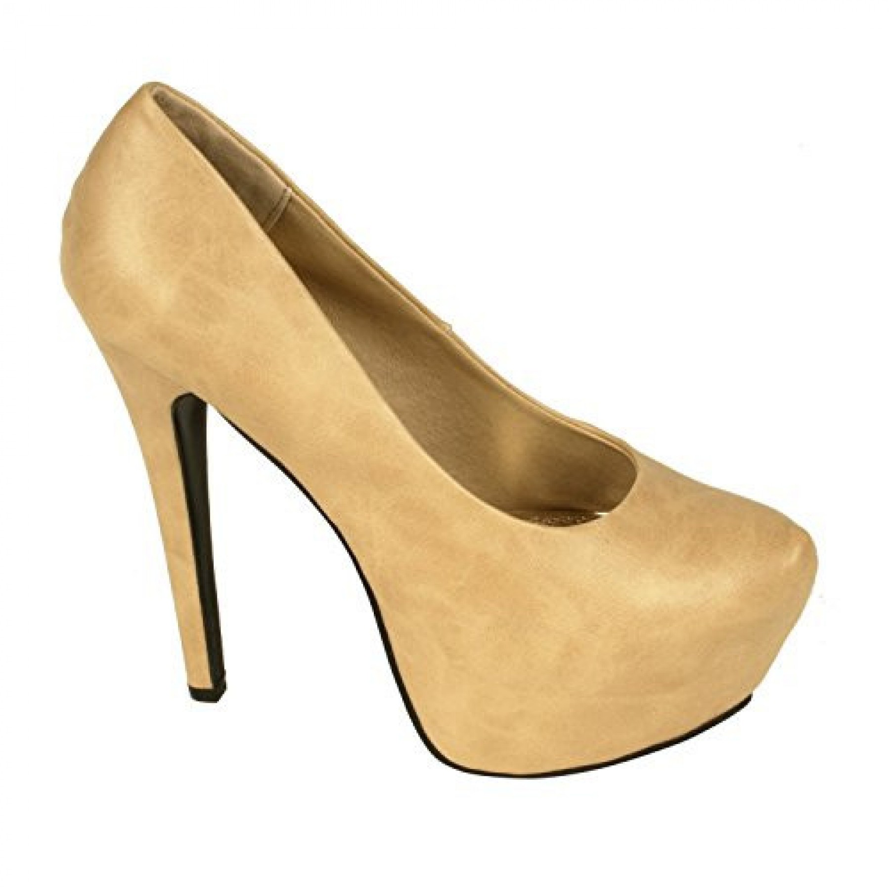 Women's Camel Emmie 6-inch Manmade Stiletto Pump with Hidden Platform