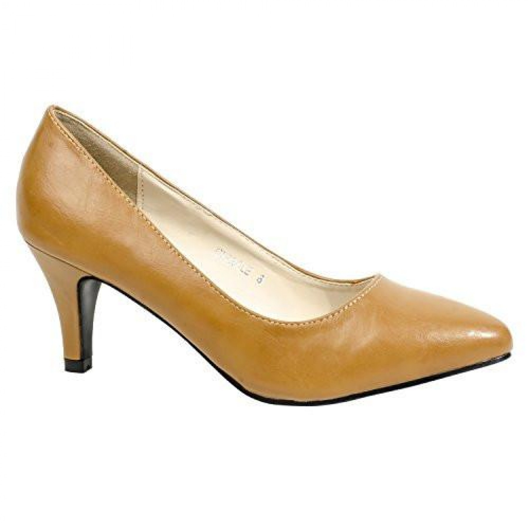 Women's Camel Manmade Cirrcle 3-inch Classic Neutral Pump