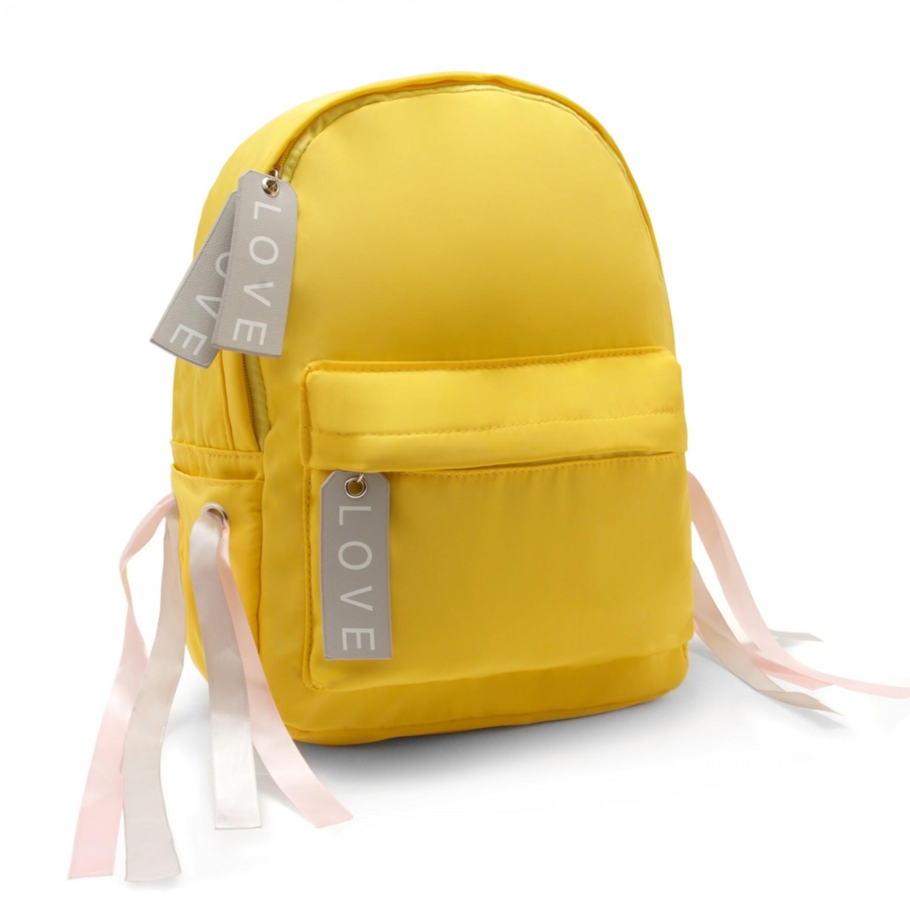 HBG103054-Women's Trendy Mini Backpack (Yellow)