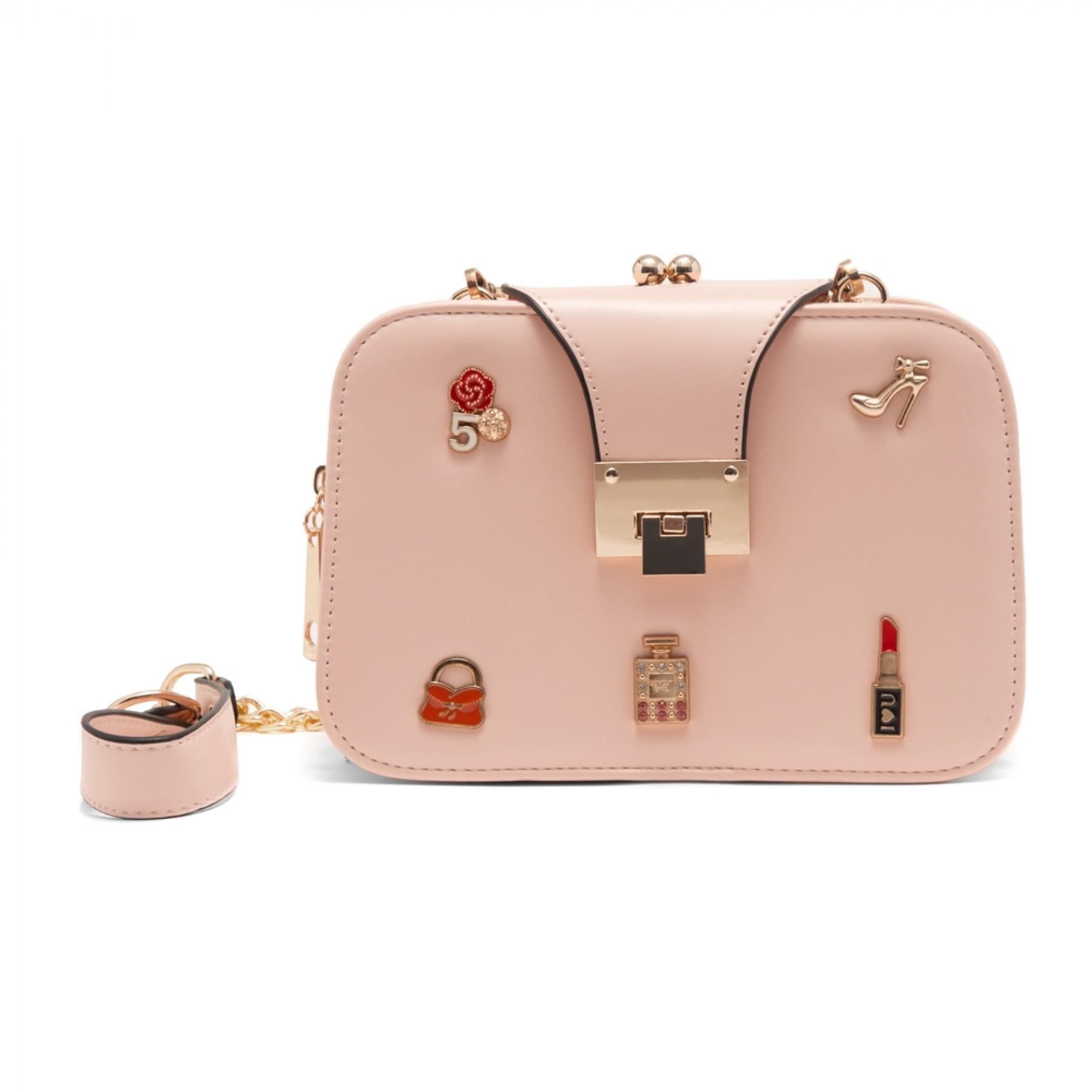 SZ15-LH2-16482 - Women's Trendy Fashion Crossbody Bag (Pink)