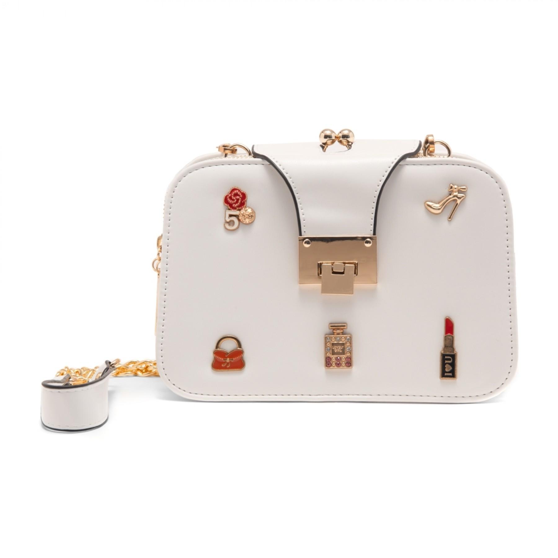 SZ15-LH2-16482 - Women's Trendy Fashion Crossbody Bag (White)