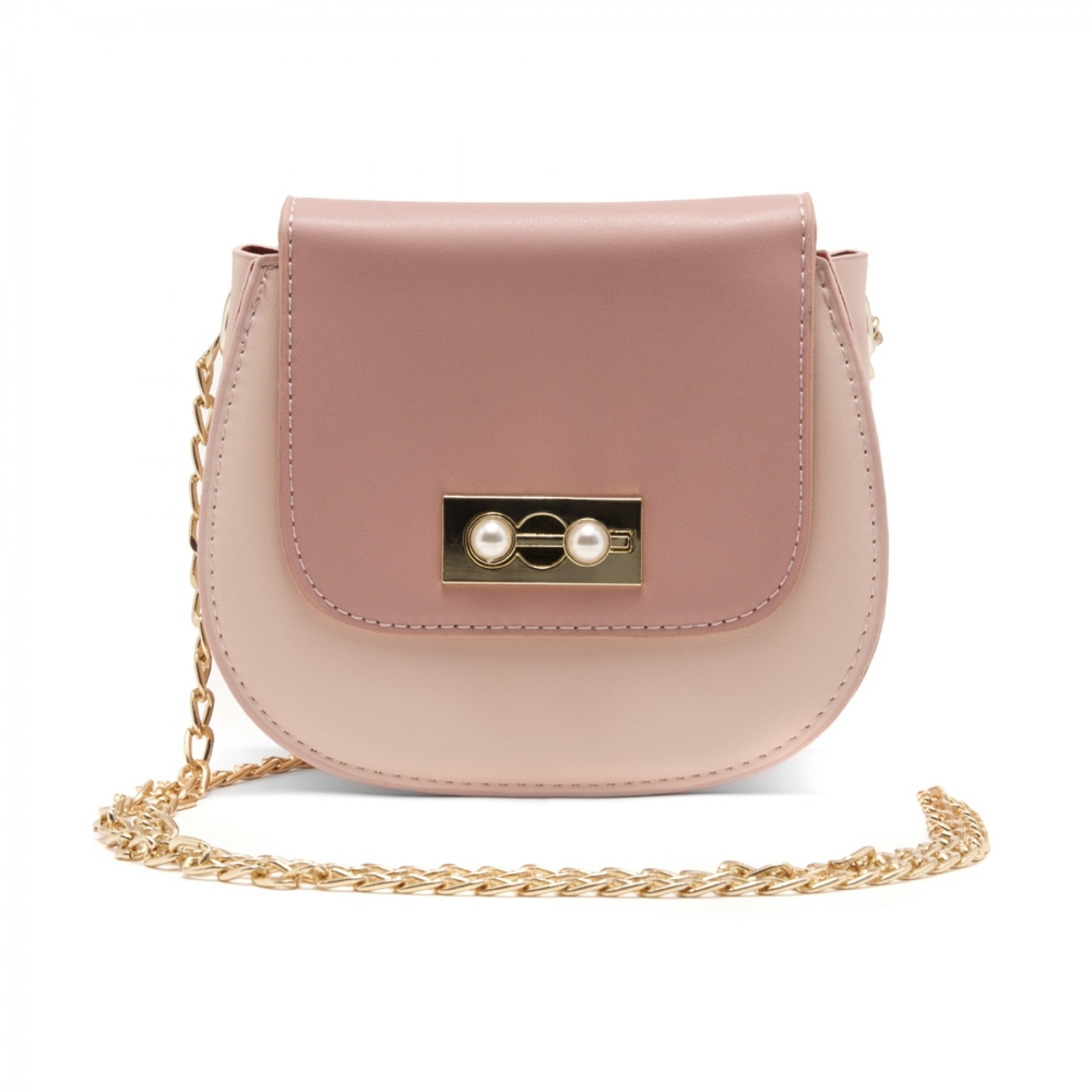 SZ17-LH2-16581 - Women's Fashion Design Mini Crossbody Bag (Pink)