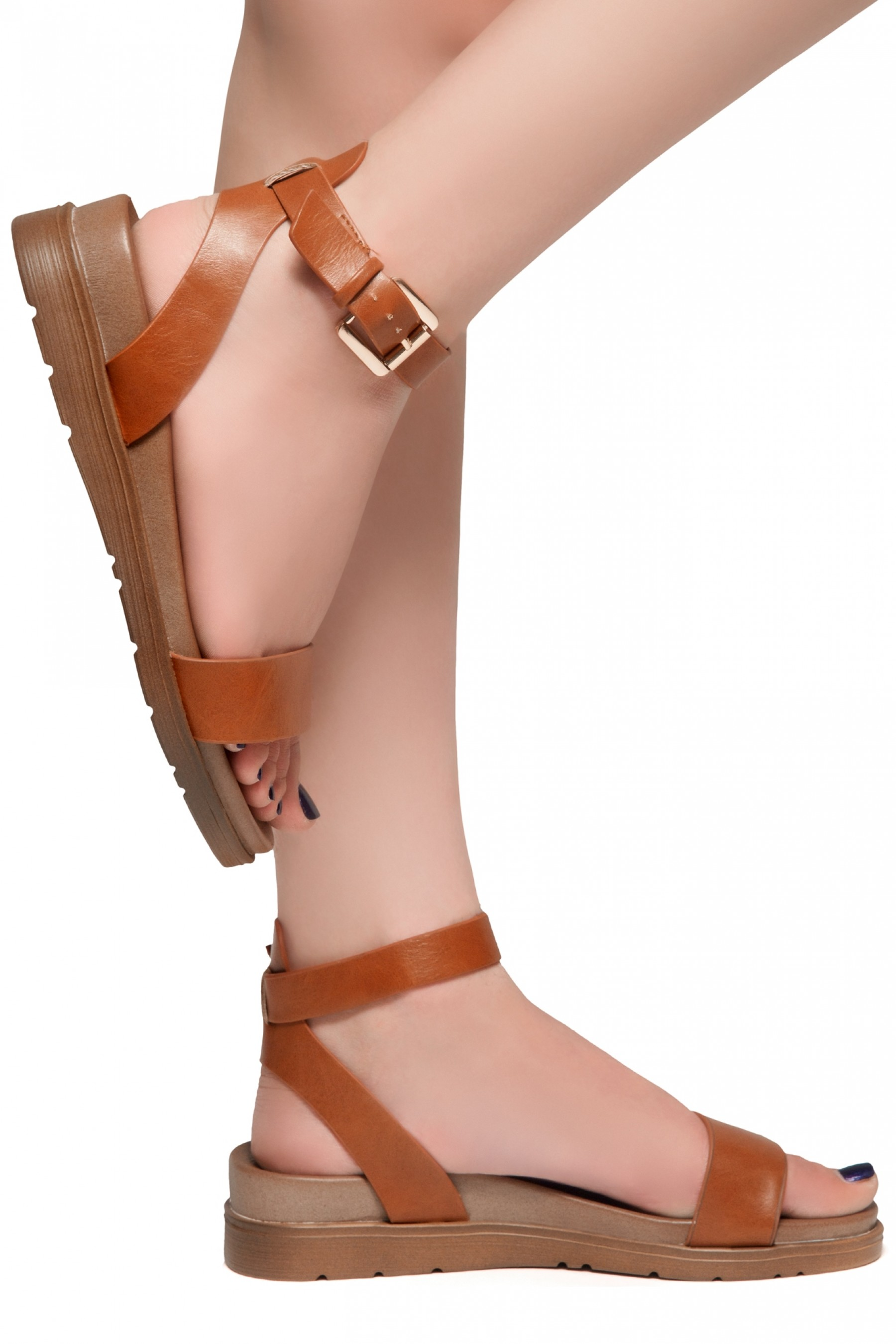 HerStyle Needed Me- Ankle Strap Flat