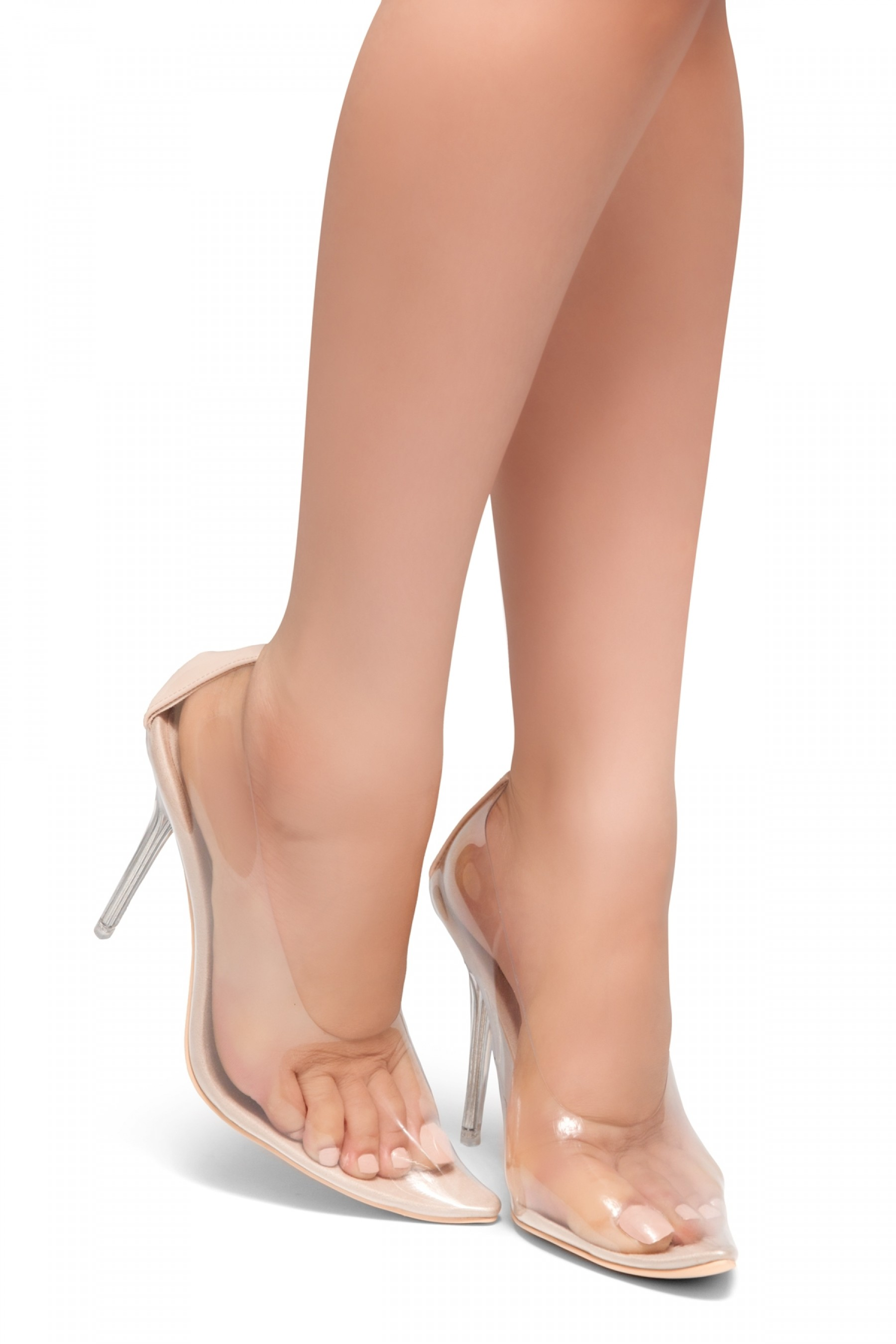 HerStyle LOVE ME TRUE- Perspex Pointed Toe