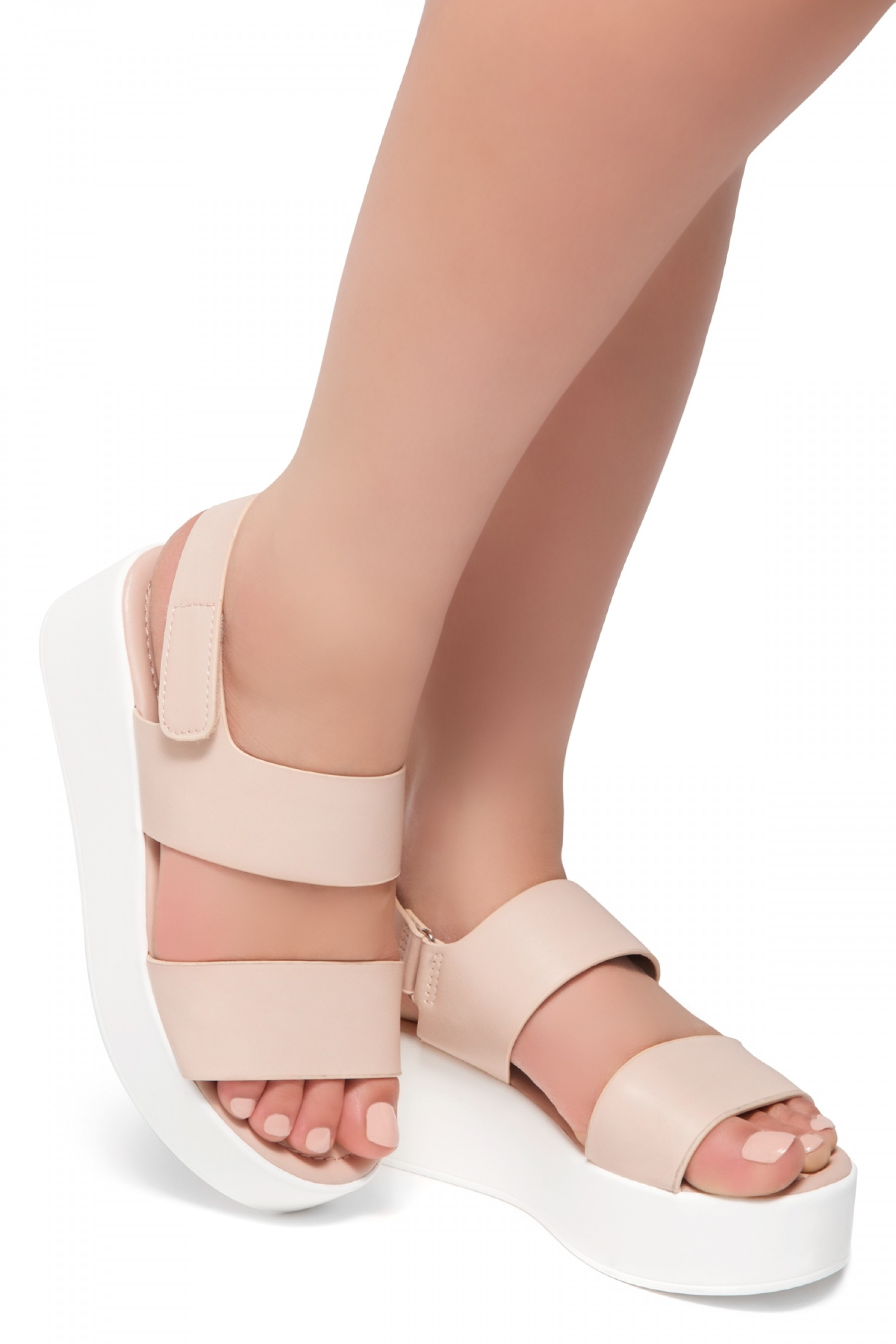 620bcb948d88 HerStyle Belma- Open Toe Velcro Strap Double-Banded Vamp with ...