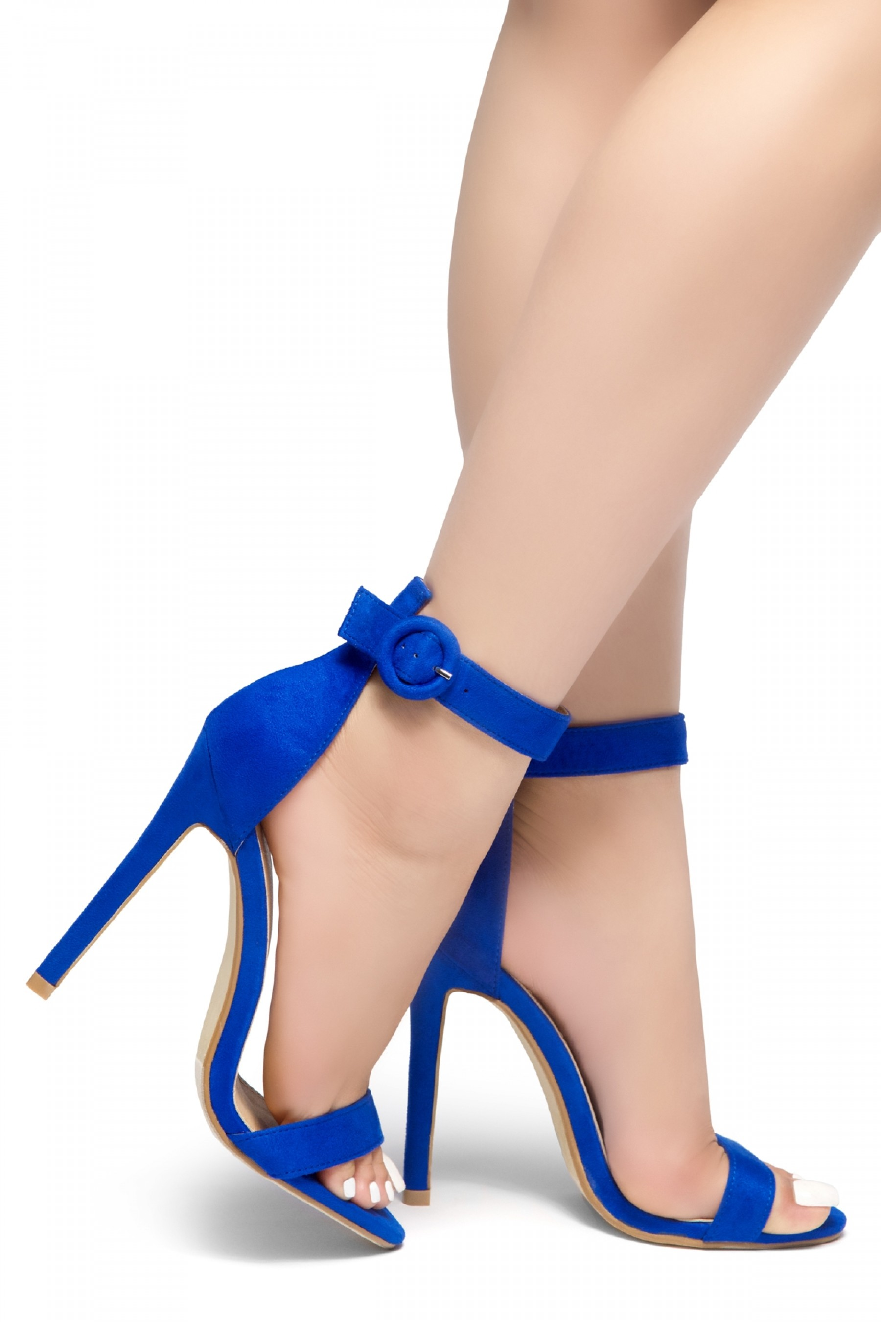Royal Blue High Heels