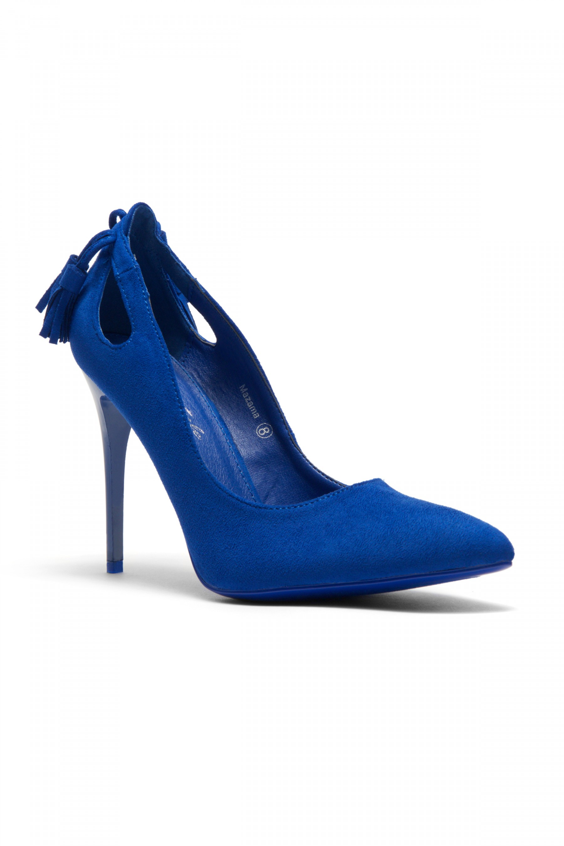 Women's Royale Blue Mazama 4-inch Pump Heel with Tassled Back