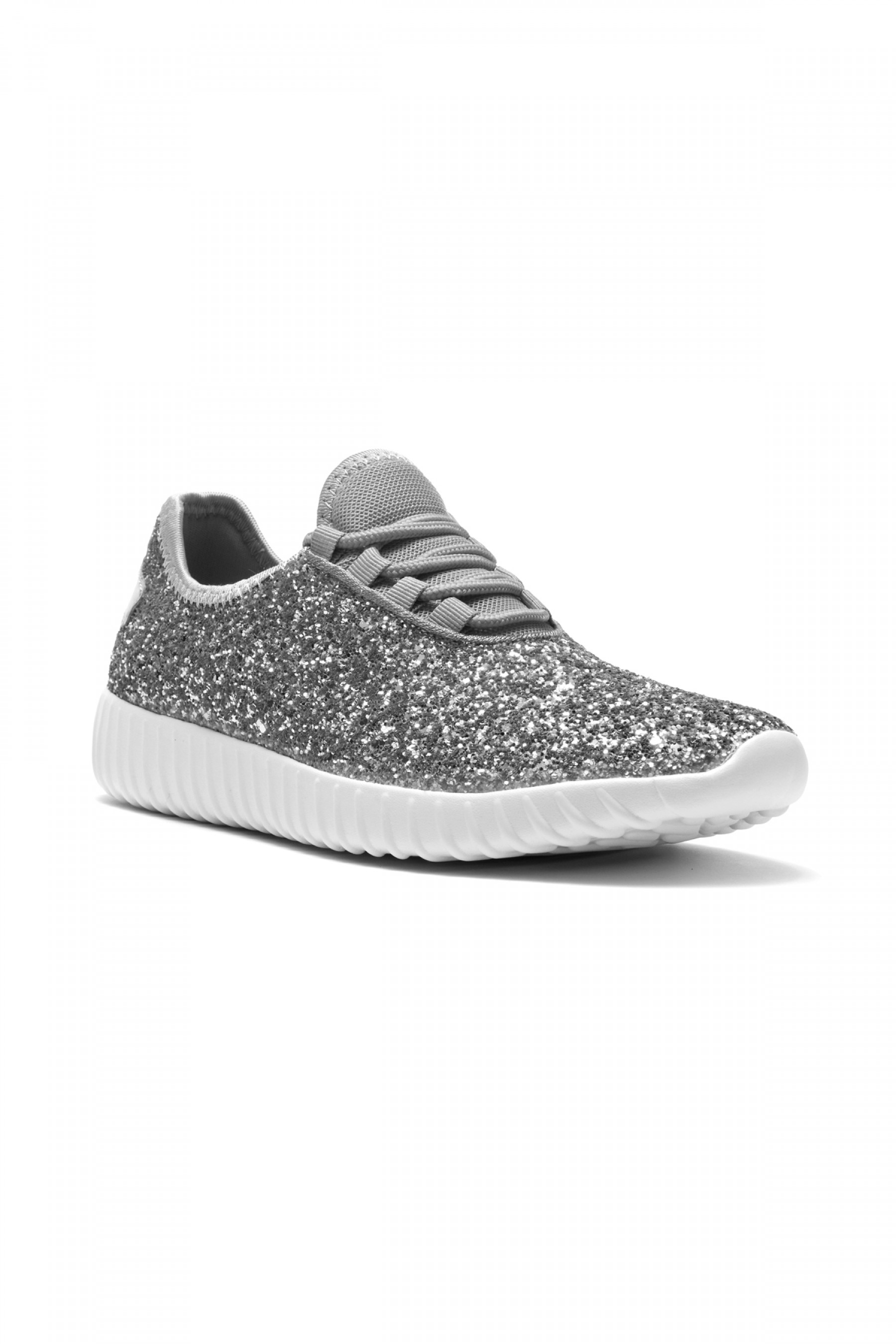 HerStyle Moniqie lightly padded insole sneakers (Silver)
