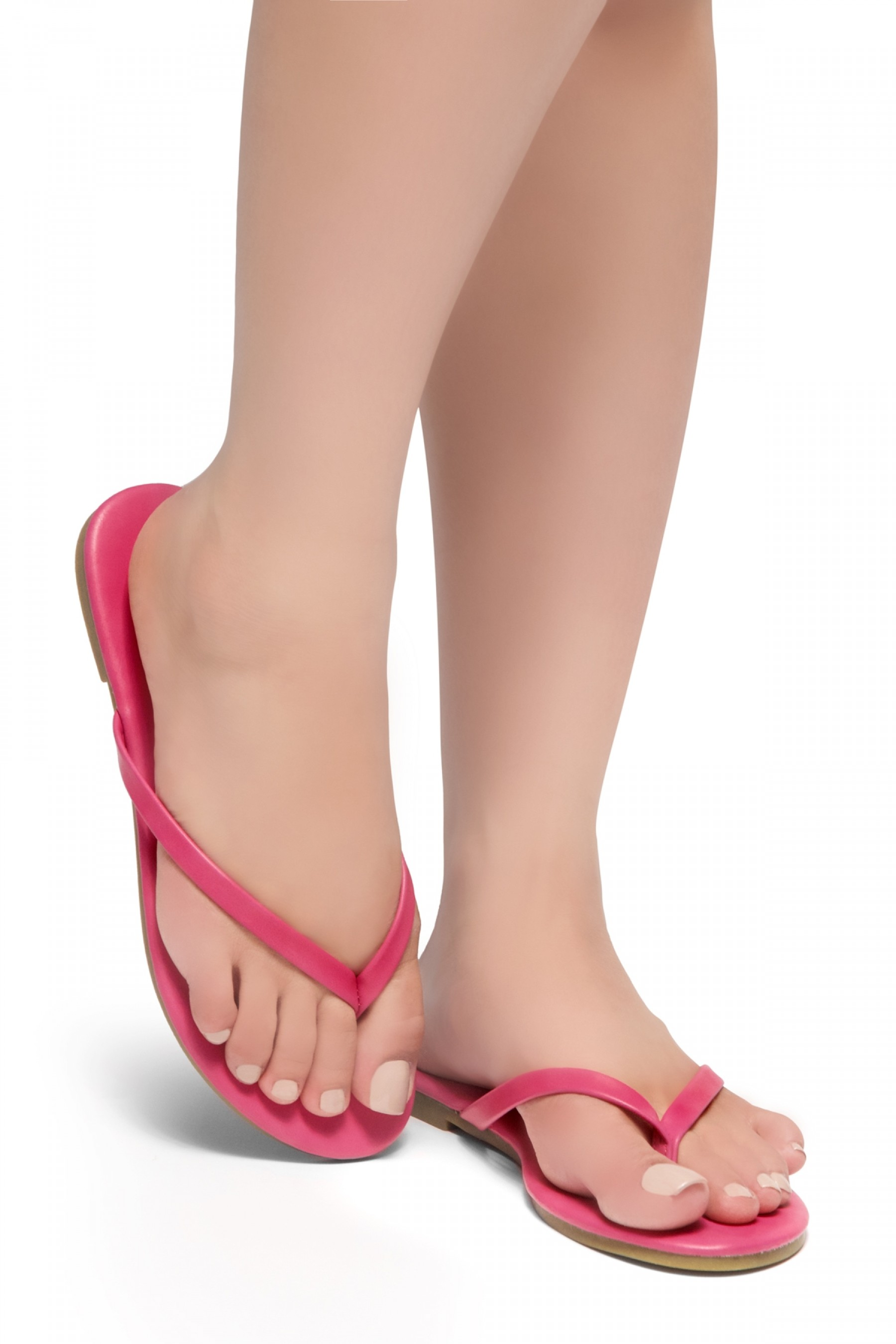 HerStyle SIONA-Easy slip-on Thong Style Flip Flops (Fuchsia)