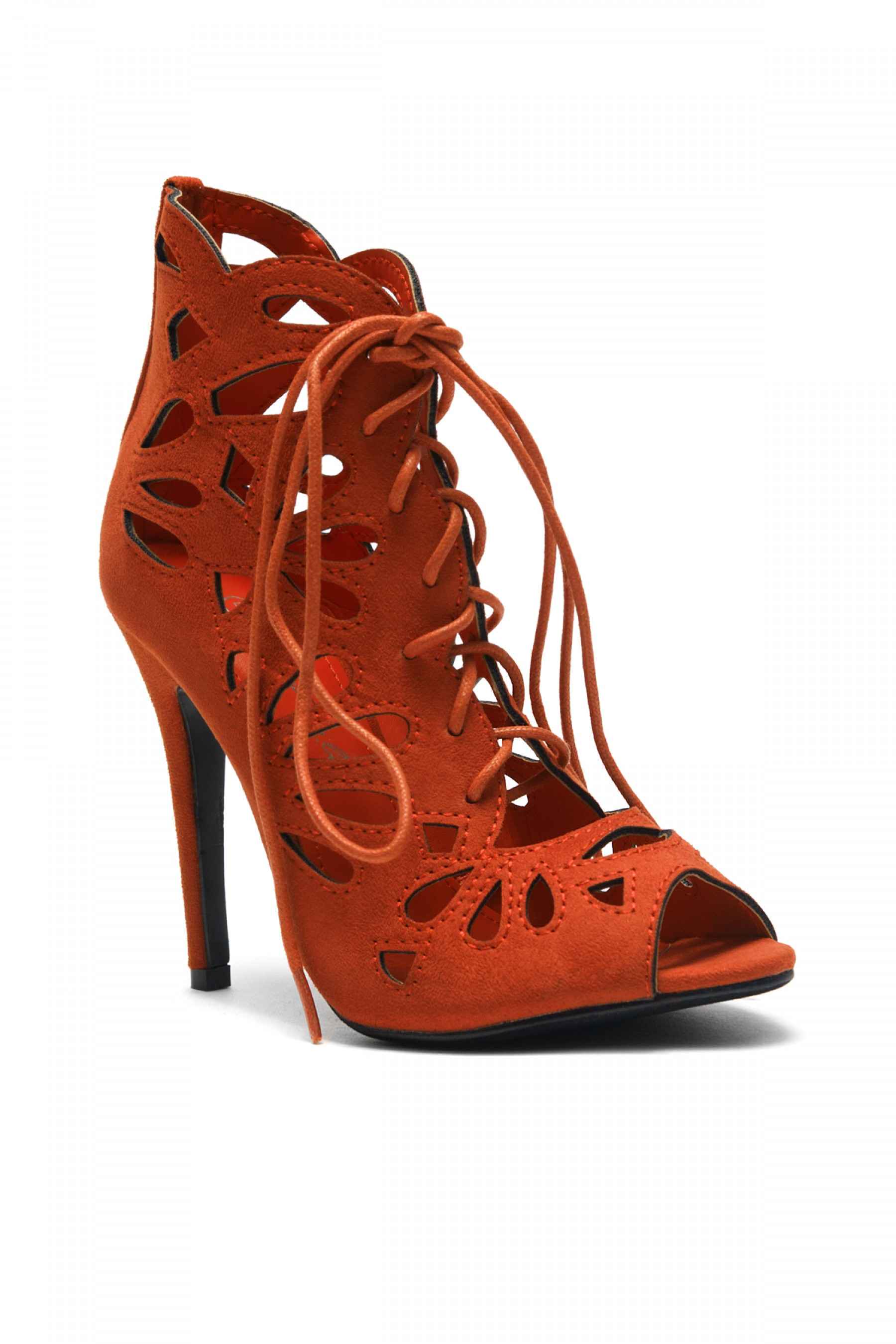Women's Zenaviaa Rust Stiletto heels
