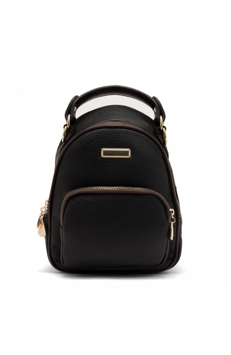SLD-BETTY- Women's Trendy Mini Backpack (Black)