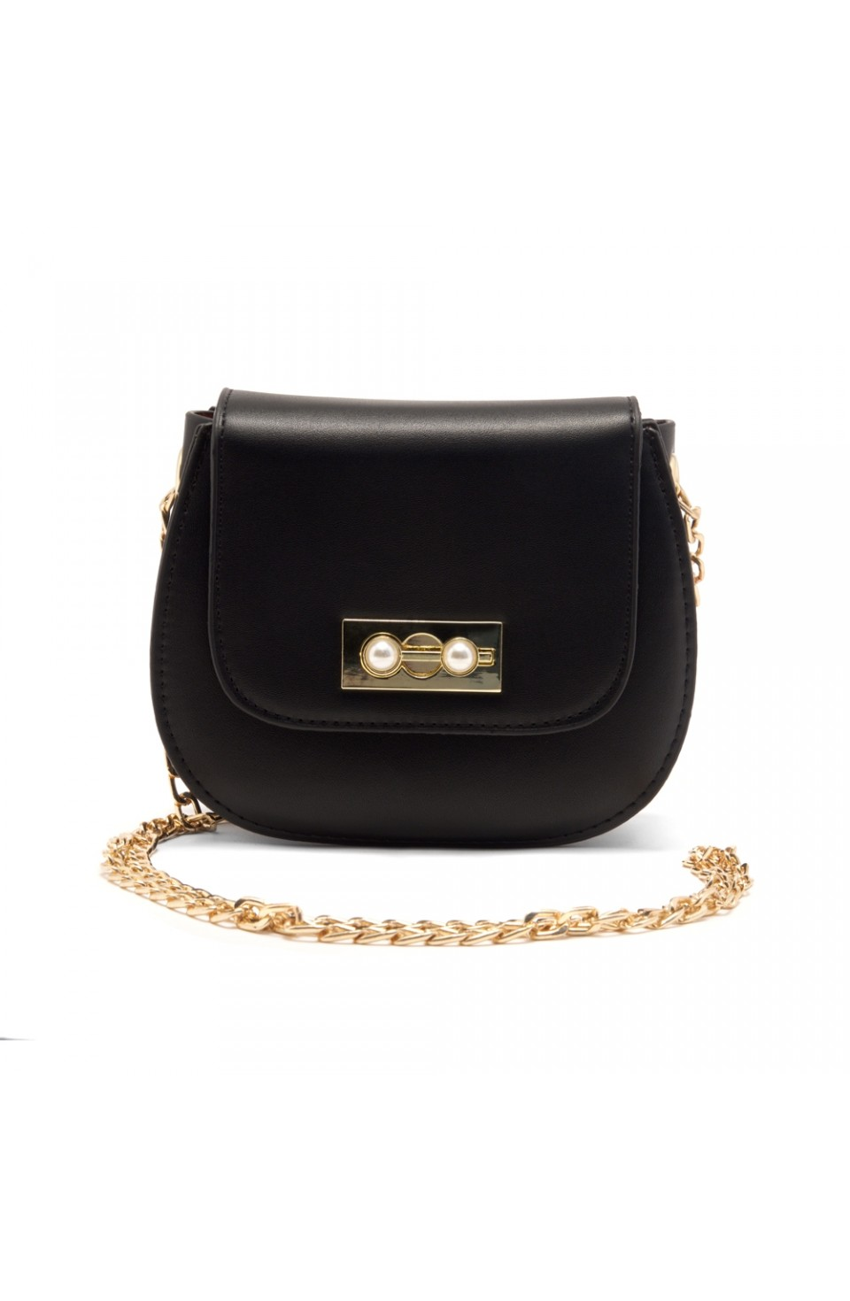 SZ17-LH2-16581 - Women's Fashion Design Mini Crossbody Bag (Black)