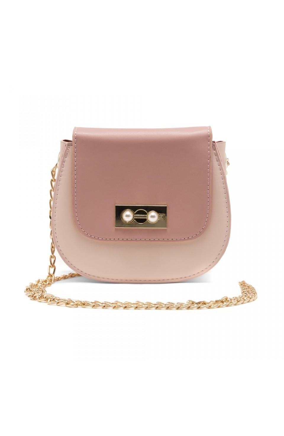 SZ17-LH2-16581 - Women's Fashion Design Mini Crossbody Bag (Pink)