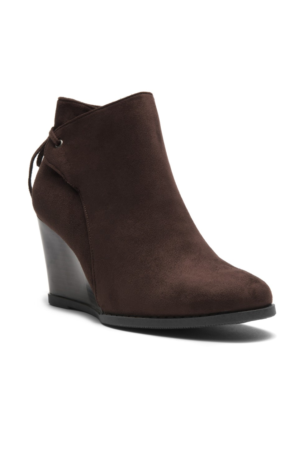 Women's Tynte Lace-Tie Wedge Chukka Boot - Brown