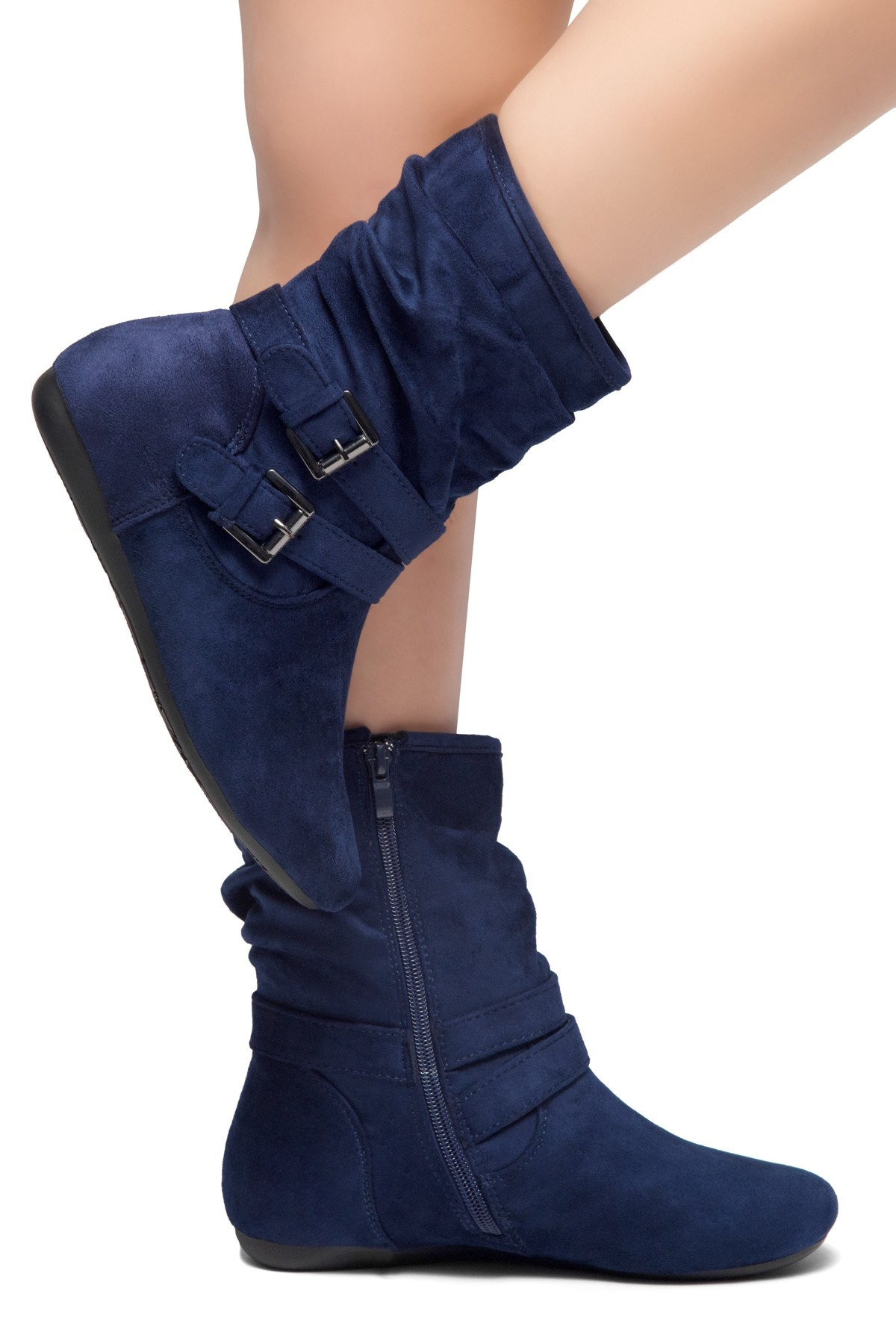 F5R1137 Details about  //'Ladies Spot On/' Mid Heel Ankle Boots
