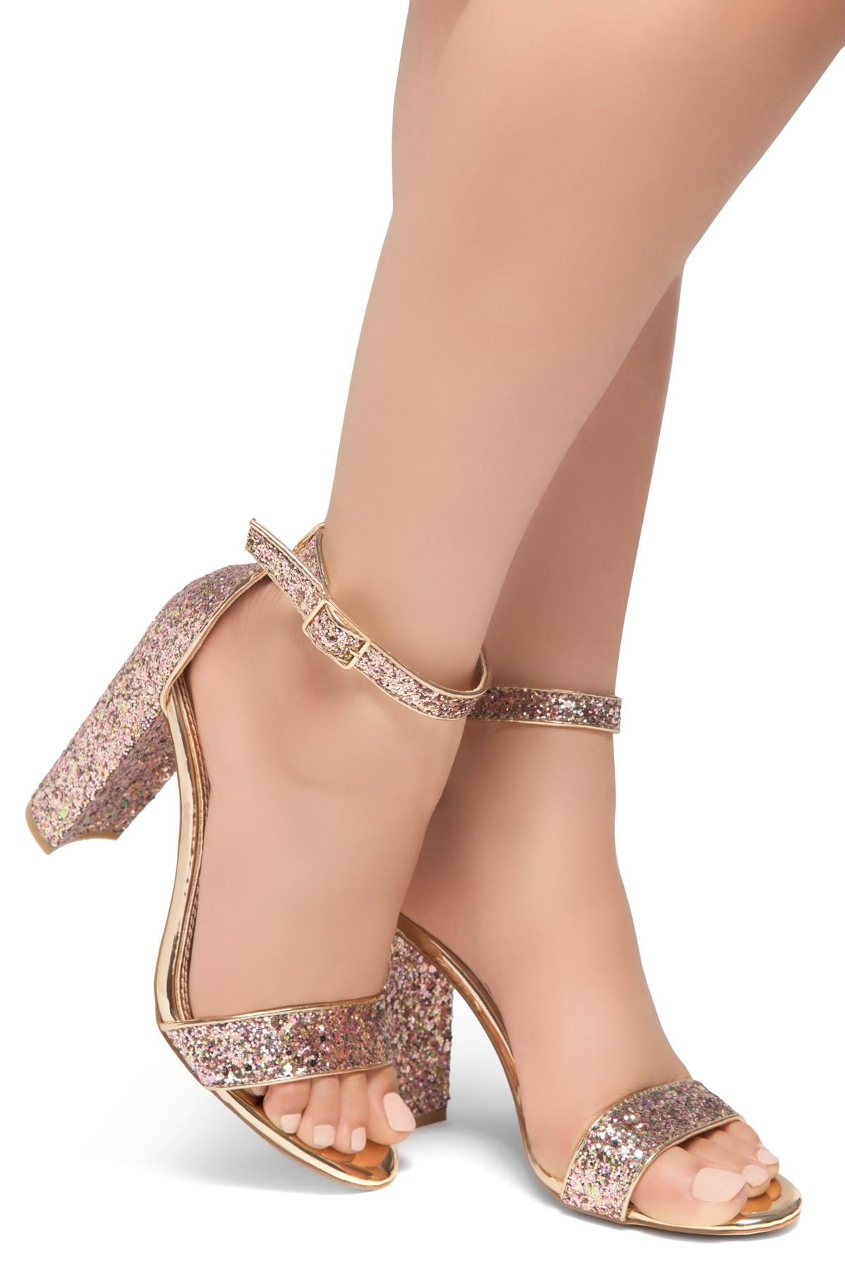 05d2923e363239 HerStyle Rosemmina Open Toe Ankle Strap Chunky Heel ...