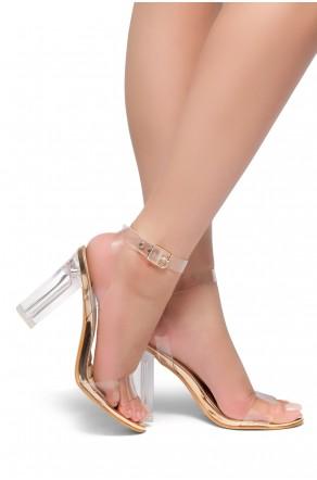 f0aebd04b9a HerStyle Women s Manmade Allissa Perspex heel