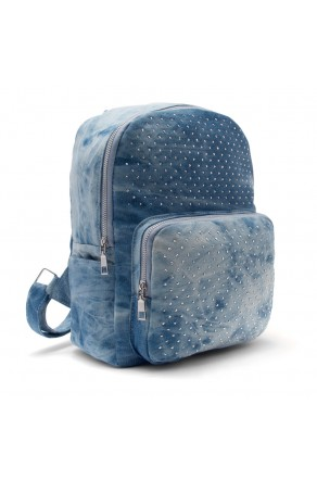 HBG103074-Women's Trendy Mini Backpack (LightBlue)
