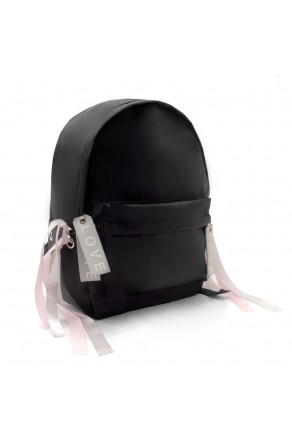 HBG103054-Women's Trendy Mini Backpack (Black)