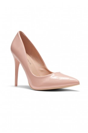 Women's  Manmade Nicklenna 5-inch Pump with Sleek Pointed Toe (Mauve)