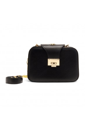 SZ17-LH2-16483 - Women's Elegant Crossbody Bag (Black)