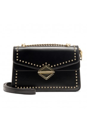 SZ17-LH2-16583 - Women's Classic Design Mini Elegant Crossbody Bag (Black)