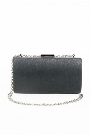 Shine Sister Crossbody Clutch (Black)