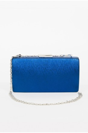 Shine Sister Crossbody Clutch (Blue)