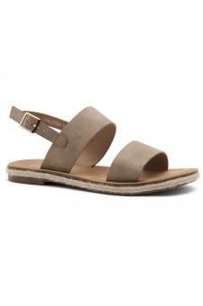 Shoe Land CRALESSA Women's Open Toe Ankle Strap Platform Wedge Sandals (Natural)
