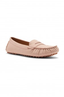 HerStyle Daphney Women's Manmade Moccasin (Mauve)
