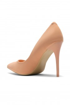 Women's Peach Pointed Toe Classic Pump EMUSE