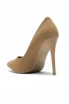 Women's Tan Pointed Toe Classic Pump EMUSE