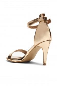 HerStyle Joyccee-Stiletto heel, ankle strap,back closure (RoseGold)