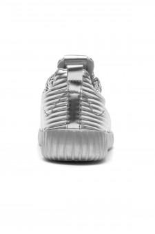 HerStyle Korriee lightly padded insole sneaker (Silver)