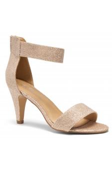 HerStyle RRose-Stiletto heel, back zipper closure (Champagne)