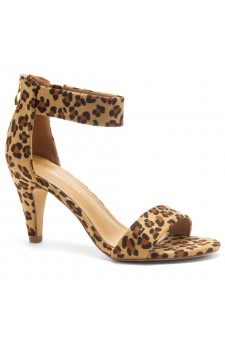HerStyle RRose-Stiletto heel, back zipper closure (Leopard)