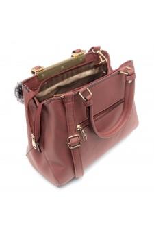 SLD-BAILY- High-end Pattern Elegant Tote Bag (Pink)