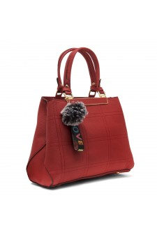 SLD-BAILY- High-end Pattern Elegant Tote Bag (Red)
