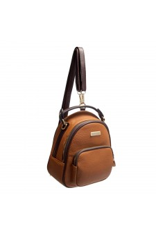 SLD-BETTY- Women's Trendy Mini Backpack (LightBrown)