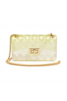 SZ17-LH2-16565S - Women's Trendy Fashion Crossbody Bag (Yellow)