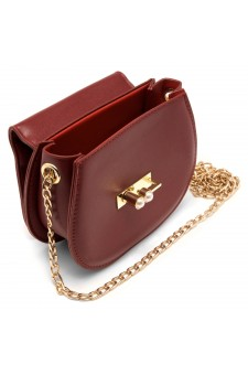 SZ17-LH2-16581 - Women's Fashion Design Mini Crossbody Bag (Red)