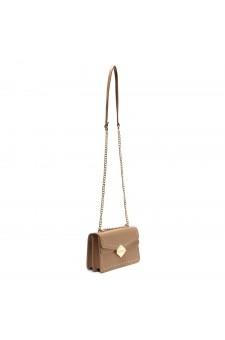 SZ17-LH2-16583 - Women's Classic Design Mini Elegant Crossbody Bag (Khaki)