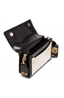 SZ17-LH2-16682 - Women's Fashion Design Top Handle Bag (Black/White)