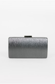 Shine Sister Crossbody Clutch (Grey)