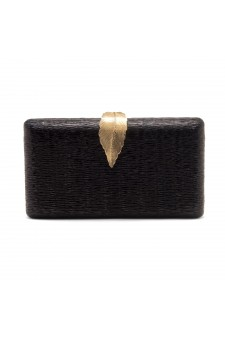 SZY-E1091- Sparkling Envelope Evening Clutch Purse (Black)