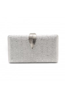 SZY-E1091- Sparkling Envelope Evening Clutch Purse (Silver)