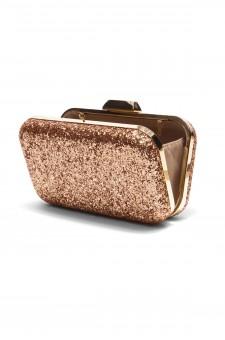SZY-E8305- Georgeous glitter bling bling evening clutch (RoseGold)