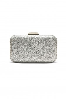SZY-E8305- Georgeous glitter bling bling evening clutch (Silver)